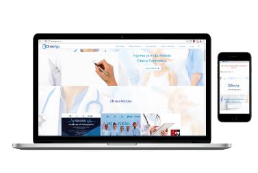 ClinicApp – Página Web